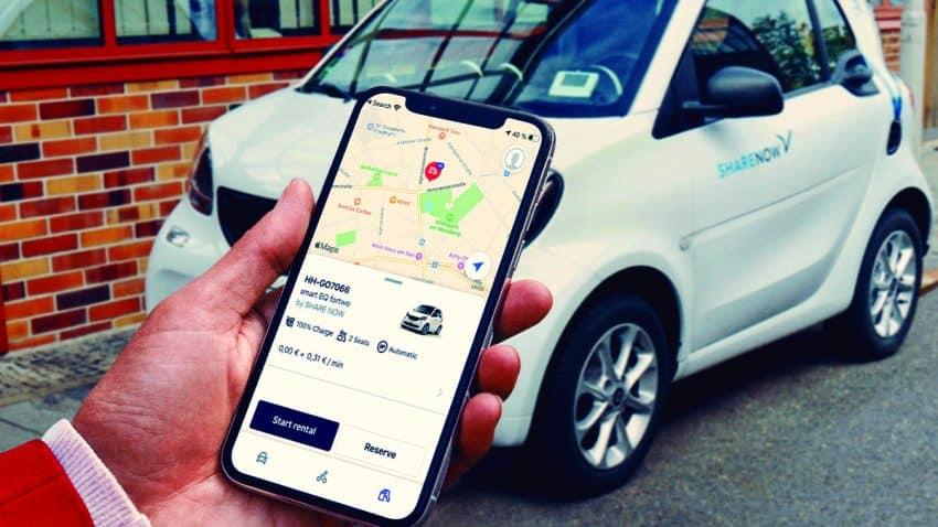 Free Now integra los servicios de carsharing de SHARE NOW en Europa