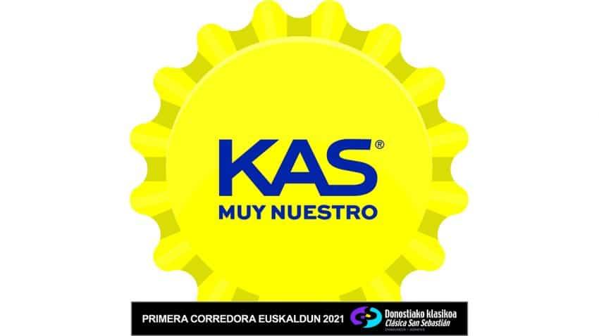 KAS se convierte en el refresco oficial y patrocinador principal de la Clásica de San Sebastián 2021