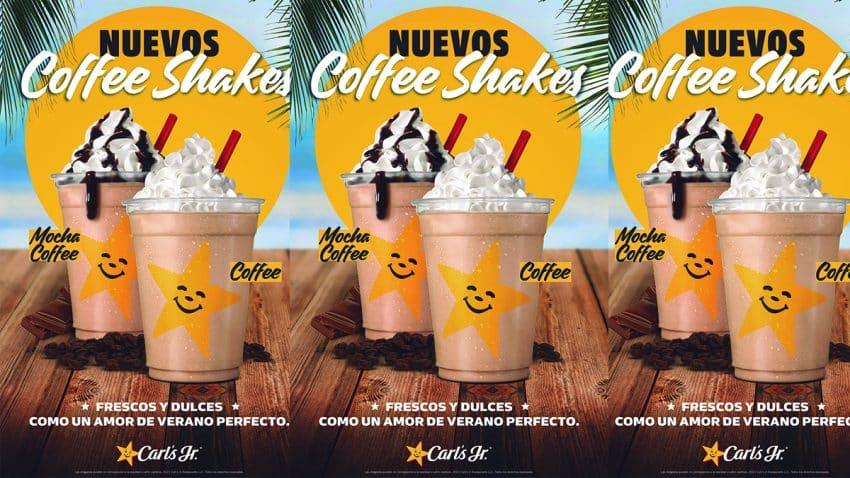 """Carl´s JR. combate el verano con sus nuevos """"Coffee shakes"""""""