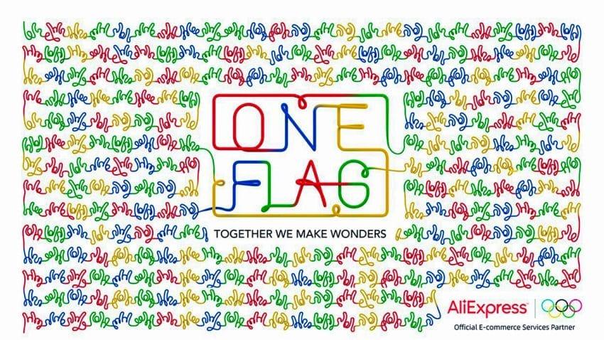 AliExpress lanza la iniciativa global ONE FLAG para apoyar a los atletas participantes en los Juegos Olímpicos de Tokio 2020