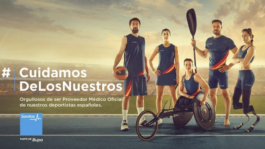 Smilebrand crea la campaña #CuidamosDeLosNuestros, de apoyo a los deportistas españoles, para Sanitas