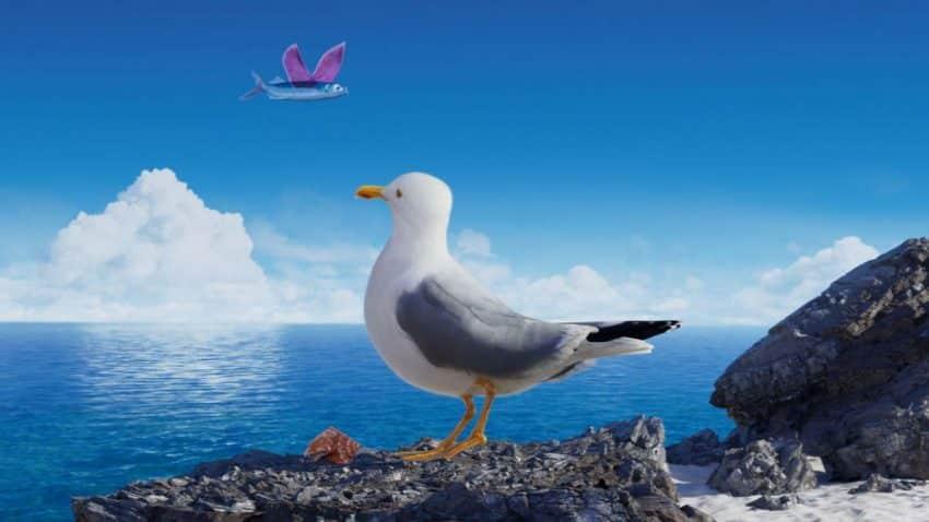 Este pez tiene alas y vuela en esta campaña de O2 que invita a respirar