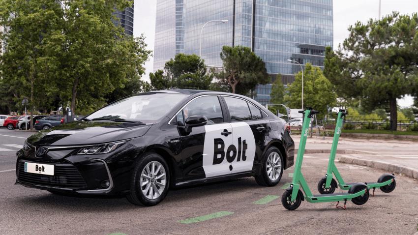Bolt revoluciona el sector VTC y aterriza en Madrid para hacer competencia a Uber y Cabify