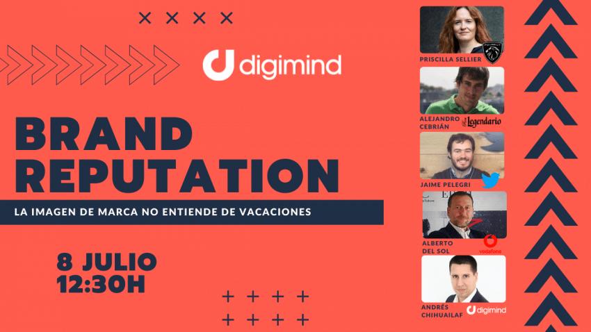 Brand Reputation: La identidad de marca no entiende de vacaciones