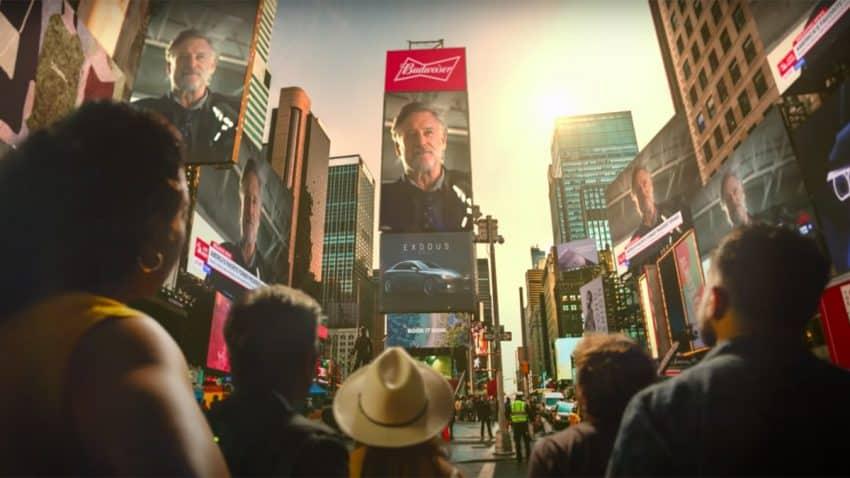 Bill Pullman retoma gracias a Budweiser su icónico rol de presidente de EE.UU. en Independence Day