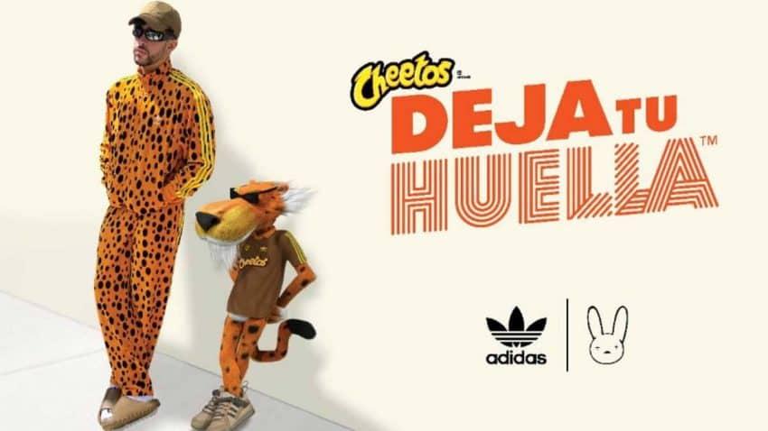 Cheetos y Bad Bunny lanzan una colección de adidas que va a