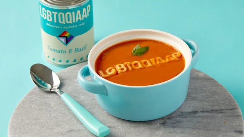 Deliveroo lanza una sopa de letras para comer a cucharadas la diversidad de la comunidad LGBT