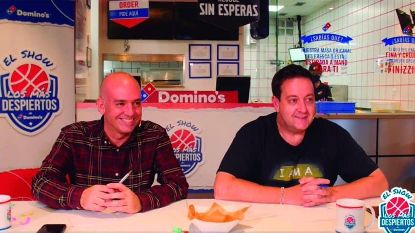 """Domino's Pizza crea """"El show de Los más despiertos"""" para los fans de la NBA"""
