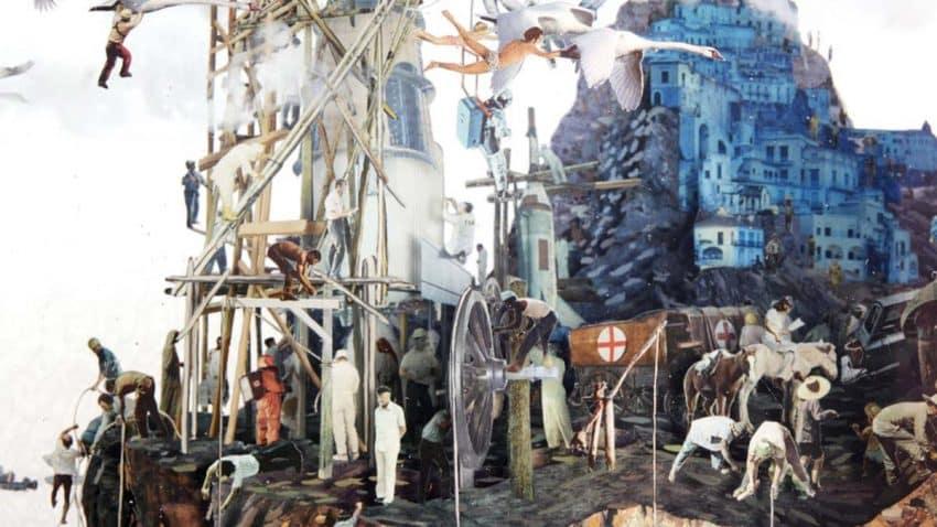 La escultura de realidad aumentada que retrata los devastadores efectos del cambio climático