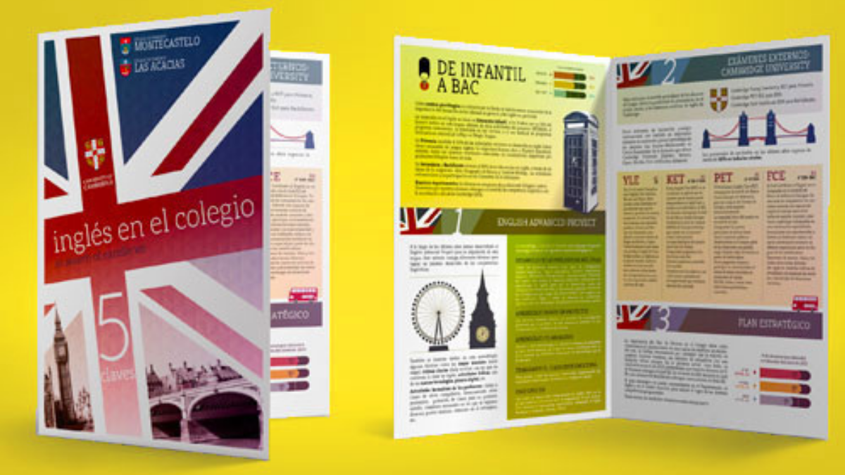 folletos publicitarios dipticos