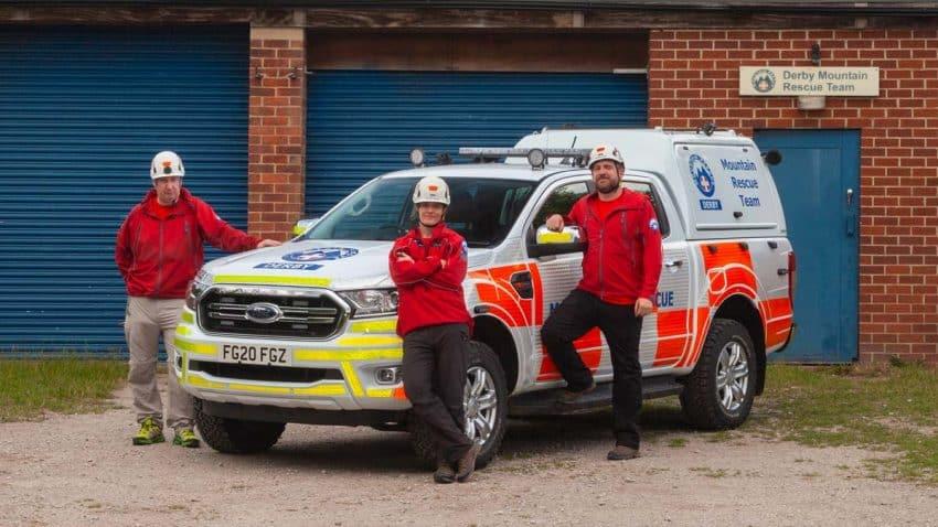 Ford cuenta la historia de este equipo de rescate de montaña de Reino Unido en