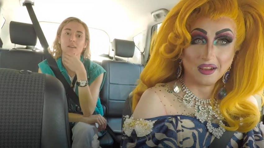 FREE NOW transforma a taxistas en drag queens para sensibilizar sobre la diversidad