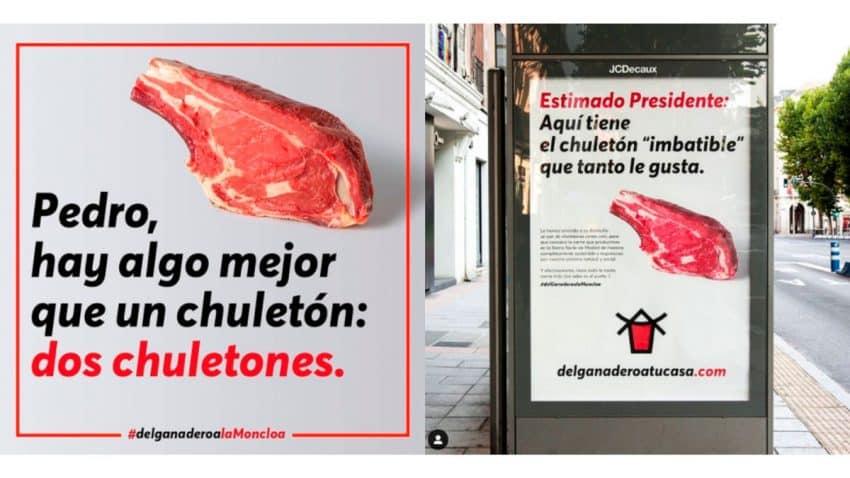Ganaderos de Madrid mandan chuletones