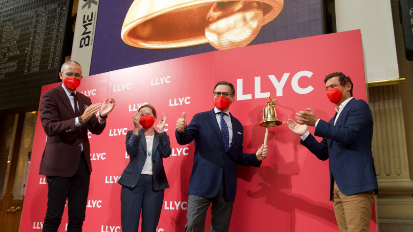LLYC debuta en BME Growth