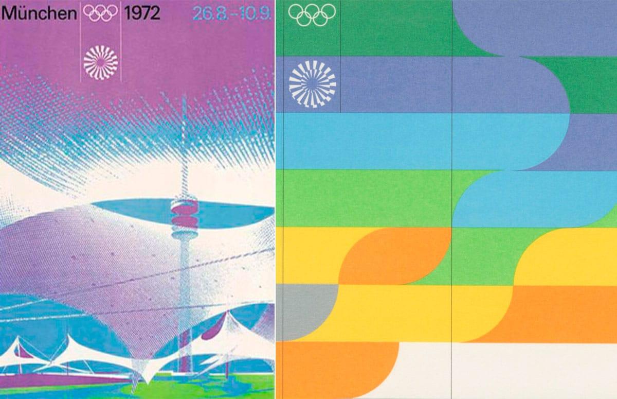 logos juegos Olímpicos Múnich 1972