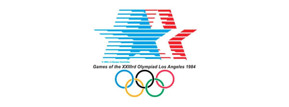 Logo juegos olímpicos Los Ángeles 1984