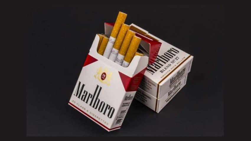 La emblemática marca de cigarrillos Marlboro