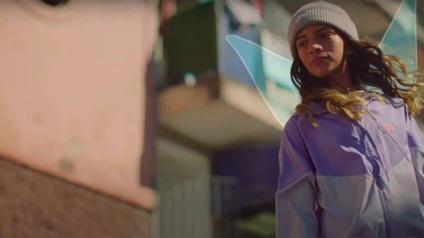 Un hada encaramada a un monopatín derriba estereotipos en este delicioso spot de Nike