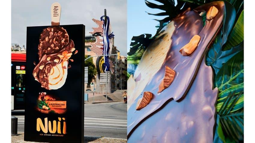 Innovación y publicidad exterior, la apuesta de Nuii para su campaña este verano