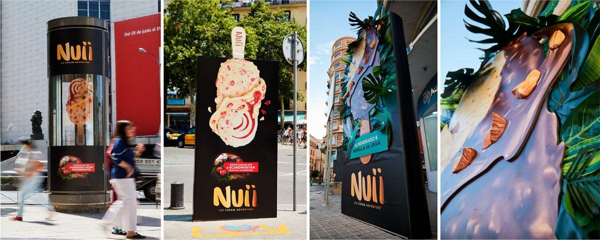 innovación en publicidad exterior Nuii