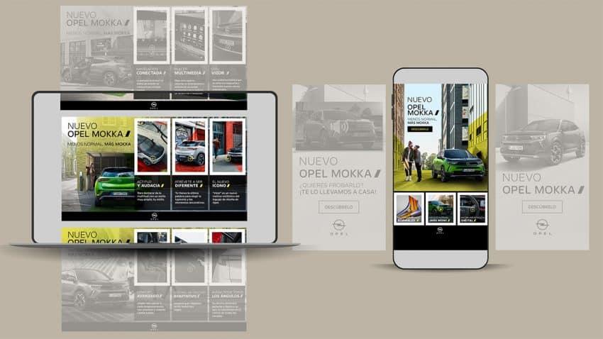 Opel apuesta por una estrategia digital contextualizada para lanzar su nuevo Mokka eléctrico
