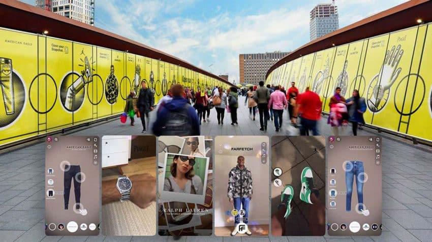 Ballenas, la jungla o la Luna: Snapchat traslada la realidad aumentada a las calles