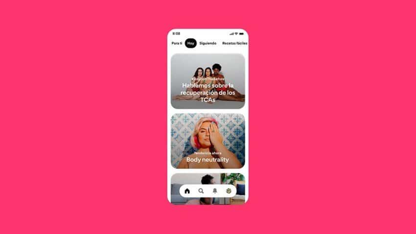 Pinterest prohíbe los anuncios relacionados con la pérdida de peso