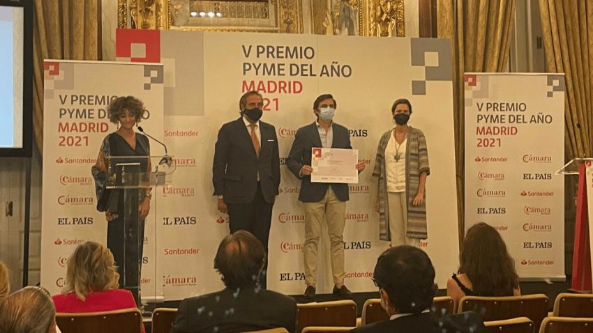 La Cámara de Comercio de Madrid premia a Seedtag con el Accésit de Internacionalización