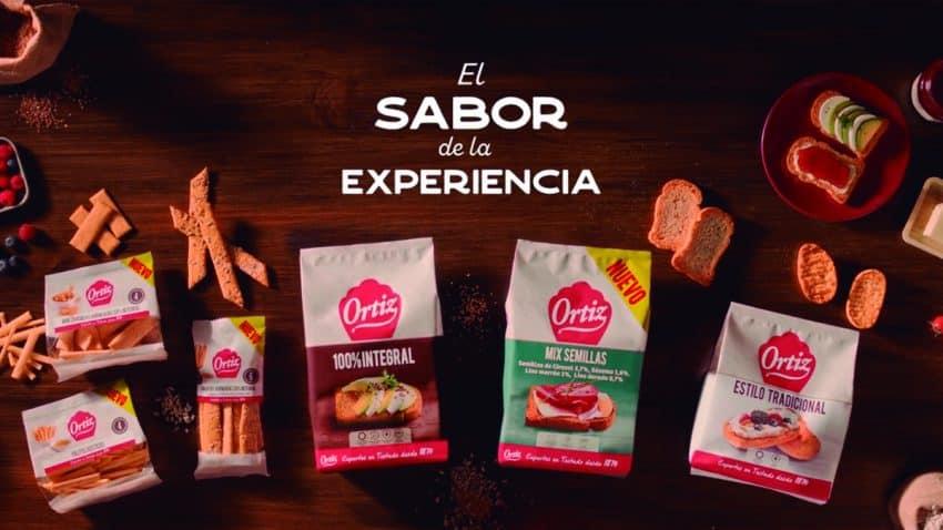 Ortiz presenta una nueva gama de snacks de la mano de Publicis España