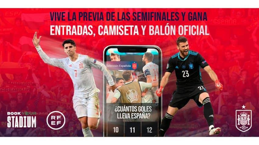 La RFEF invita a los aficionados a una previa interactiva virtual de las semifinales de la Eurocopa 2020