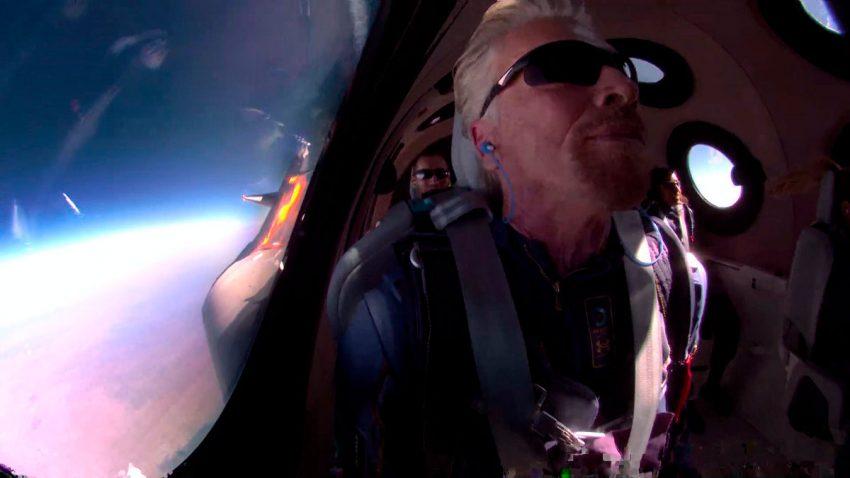 El vuelo al espacio de Richard Branson, la última parada en el camino de la innovación de la marca Virgin