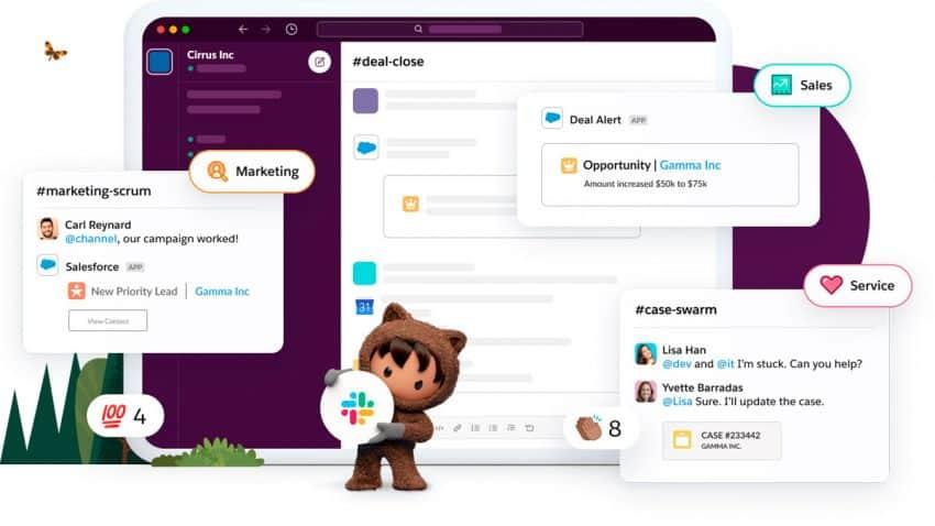 Salesforce completa la compra de Slack: