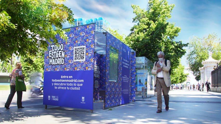 Las marquesinas de JCDecaux apoyan la iniciativa 'Todo está en Madrid', la nueva guía digital georreferenciada sobre la oferta comercial de la ciudad