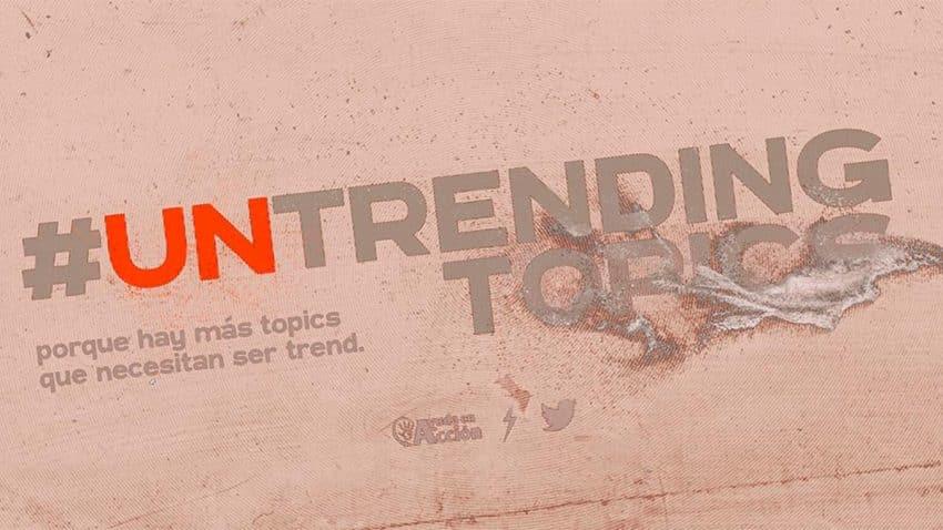 La iniciativa #UntrendingTopics da voz en Twitter a una