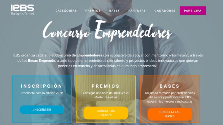 IEBS celebra la 11º edición del Concurso de Emprendedores para impulsar innovación entre las Startups