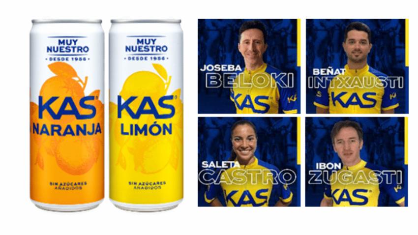 KAS es el refresco oficial de La Vuelta 2021
