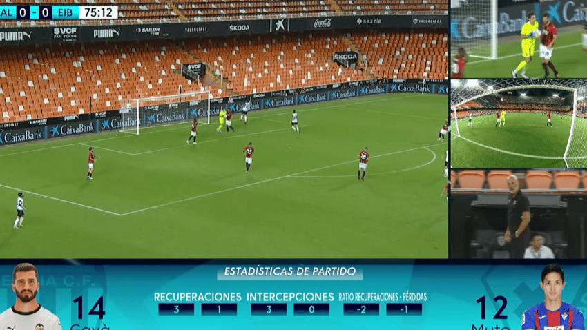 LaLiga y Movistar estrenan la Señal Multicámara en la nueva temporada