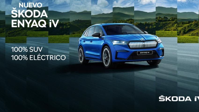 ŠKODA lanza una evocadora campaña para el lanzamiento de su SUV 100% eléctrico