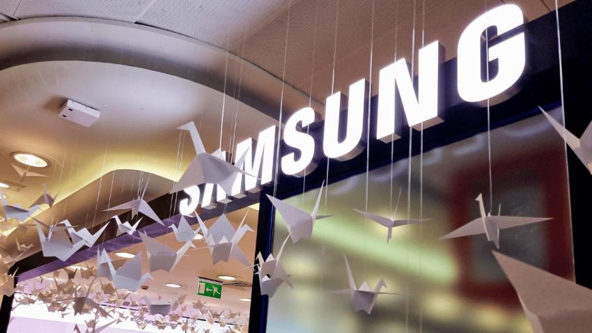 Samsung lanza una búsqueda del tesoro inspirada en el origami