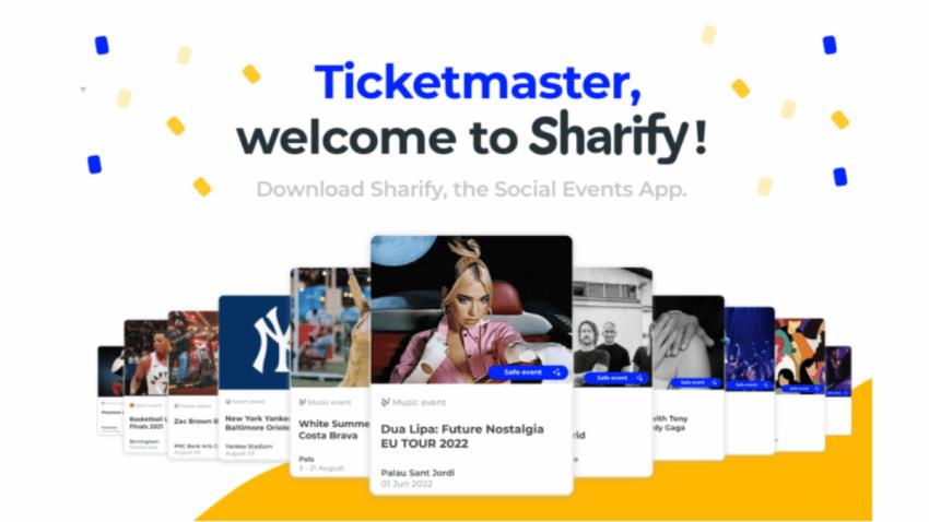 Ticketmaster da la bienvenida a Sharify