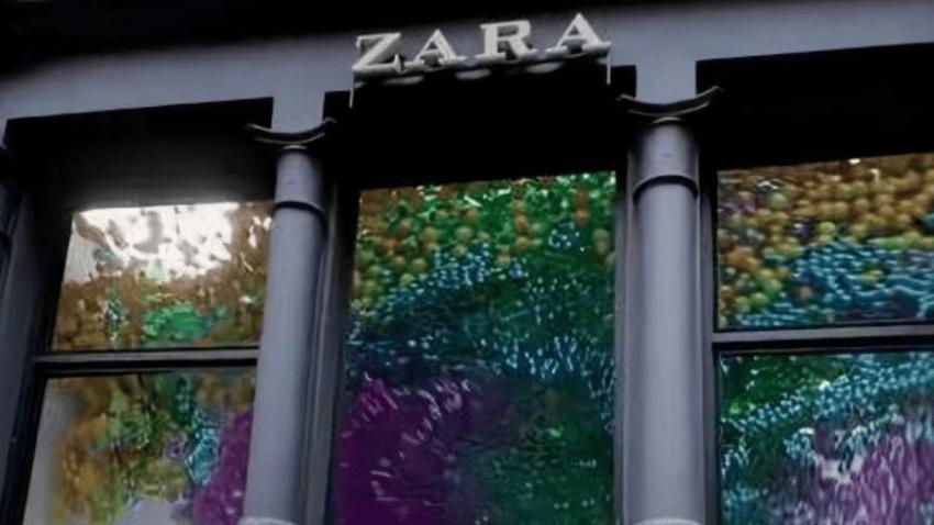 Un escaparate 3D, la obra maestra de ZARA para captar la atención de los consumidores