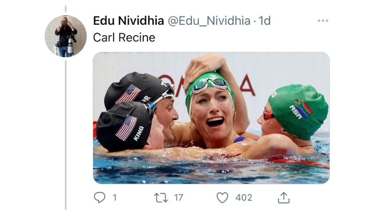 nadadoras juegos olímpicos