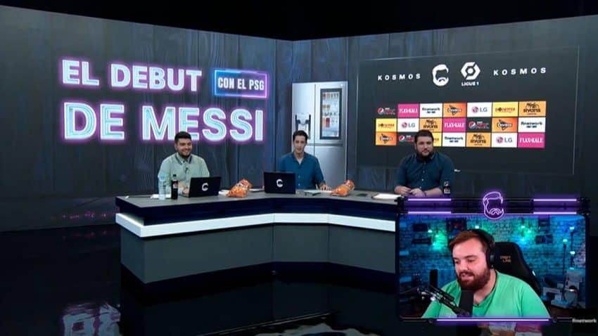 Ibai Llanos suma otro éxito con la retransmisión del debut de Messi (en la que no faltaron las marcas)