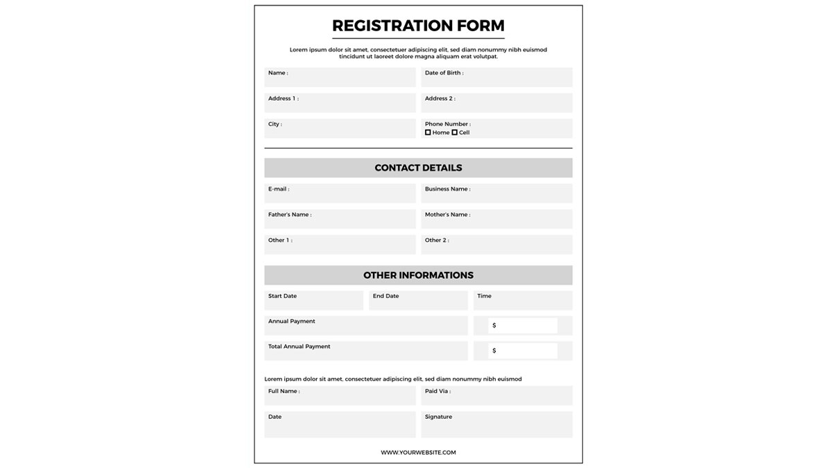 formulario email marketing