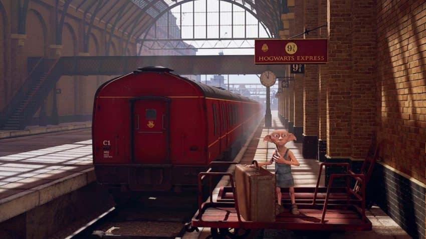 Esta experiencia de realidad virtual de Harry Potter, la puerta