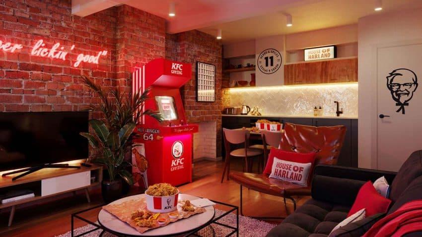 El Hotel KFC: Una curiosa (y sabrosa) estancia para los acérrimos del pollo frito