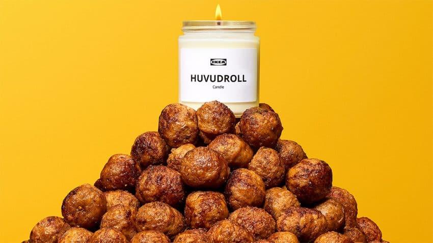 IKEA pone los dientes largos a tu pituitaria con una vela que huele como sus célebres albóndigas
