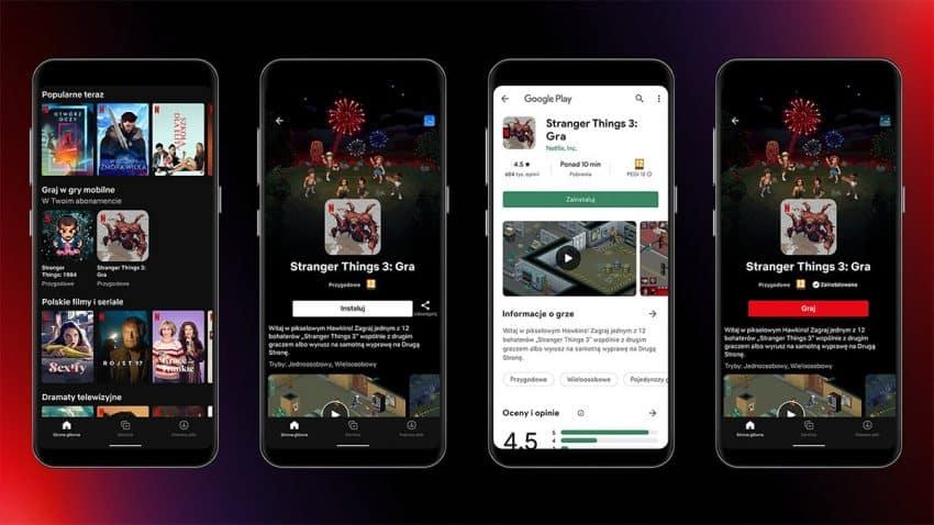 Netflix abre paso a los primeros videojuegos en el catálogo de su app en Android