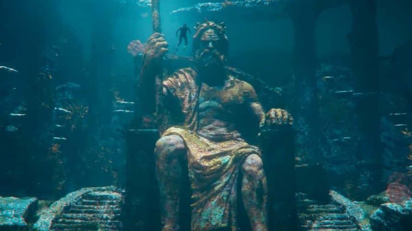 Este aclamado surfista se atreve a despertar la ira de Poseidón en este colosal spot