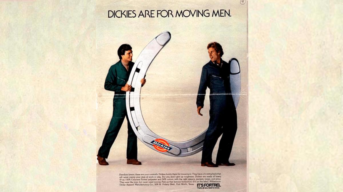 Publicidad subliminal  dickies
